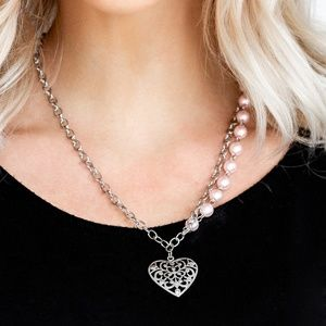 Forever In My Heart - Pink Necklace Set